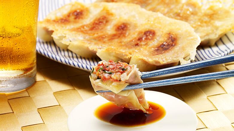 コンビーフ餃子
